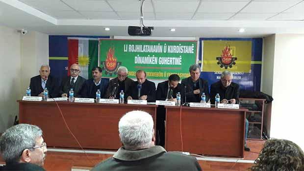 Li Amedê Konferansa ''Li Rojhilatê Navîn û Kurdistanê Dînamîkên Guhertinê'' Lidarket