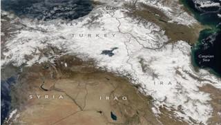 NASAyê nexşeya Kurdistanê belav kir!