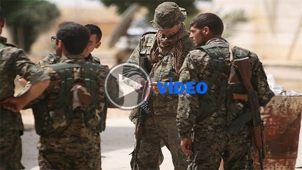 Leşkerên amerîkî bi kurdî perwerde didin şervanên YPGê