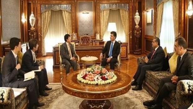 Serokê Koreya Başûr serokwezîrê Kurdistanê re nameyekê dişîne