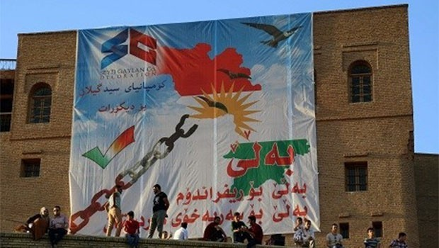 Konseya Referandûmê derbarê Nexşeya 'Kurdistana Mezin' de daxûyanî da