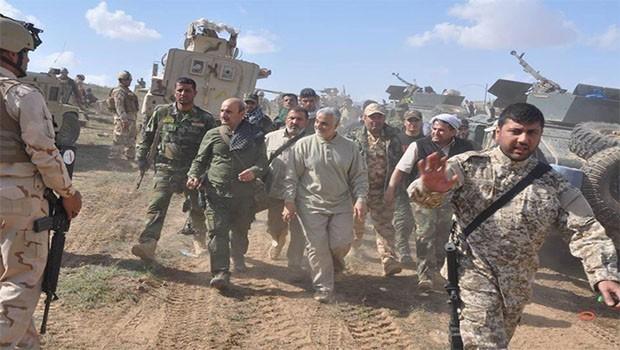 Qasim Suleymanî operasyonên hêzên Îranê li Iraq û Sûriyê bi rê ve dibe