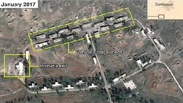 Îran li Sûriyê baregeha leşkerî avakir