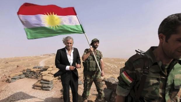 Bernard Henri Levy bo Kurdan: 'Ez ê bidim nîşan ku ne tenê çiya dostê we ne!'