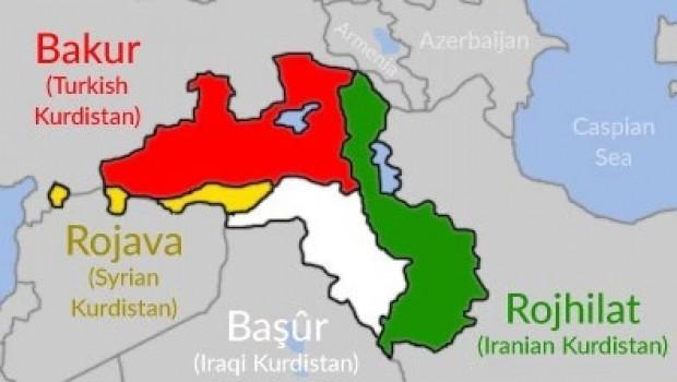Li herêmê nebûna projeyên dewletan, Kurd berê xwe didin serxwebûnê
