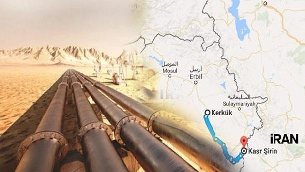 Îran: Emê xeta boriya petrolê bikêşin Kerkûkê