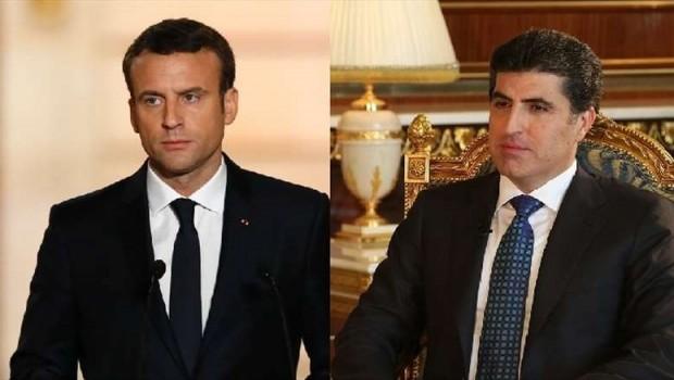 Serokwezîr Barzanî îro bi Macron re hevdîtin dike