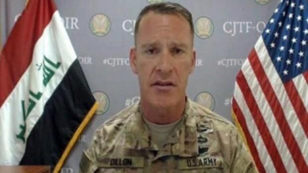 Ryan Dîllon: Hêza me li Efrînê nînin