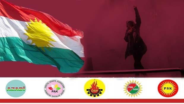 Em piştgirîya daxwaza azadîyê ya gelên Îranê û Rojhilatê Kurdistanê dikin