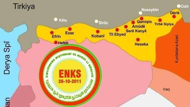 ENKS derbarê êrîşên Tirkiyê li ser Efrînê daxuyaniyek belav kir