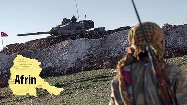 Gefên Tirkîyê li ser Efrînê