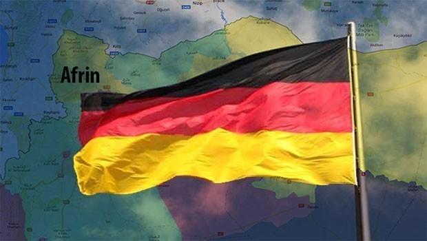 Almanya jî derbarê Efrînê de daxuyanî da