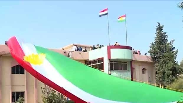 Heşda Şeibî dest bi rakirina alayê Kurdistanê kir!