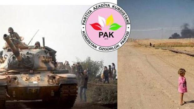 PAK: Efrîn di bin xeteriya jenosîdê de ye