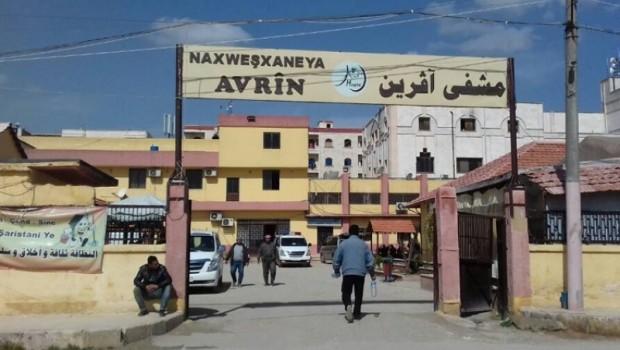 Nexweşxaneya Avrîn a Efrînê hat bombebarankirin