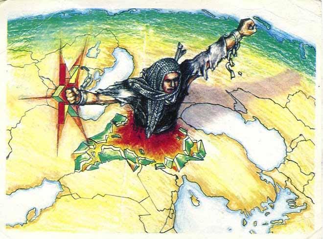 Ortadoğu Cehenneminde Kürdlerin Yegâne Kurtuluşu Devletleşmekdir…