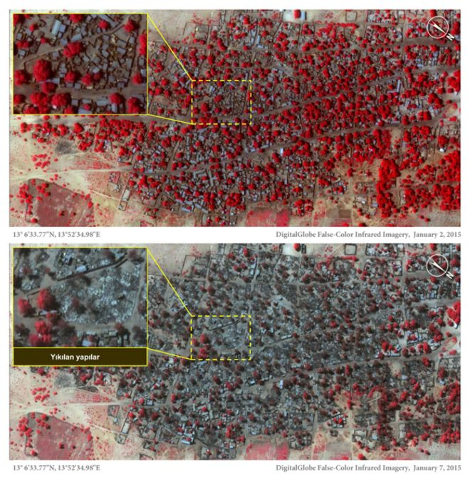 Boko Haram Nijerya'da kasabaları haritadan sildi