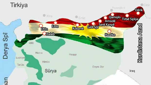Suriye Kürdistan'ı bağımsızlığa göz kırptı