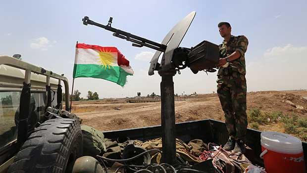 Kerkük'ün batısında IŞİD'e operasyon