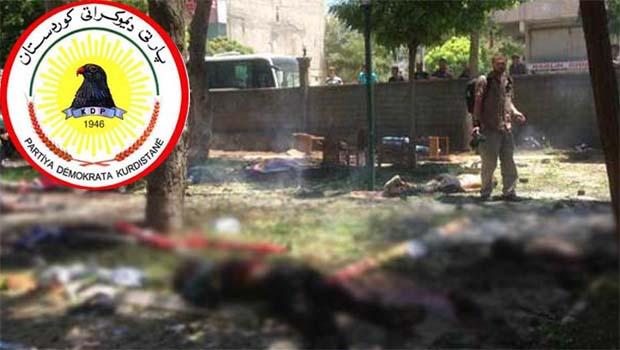 KDP: Şiddetle kınıyoruz