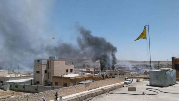 Kobanê'de 2 büyük patlama! 5 Şehit