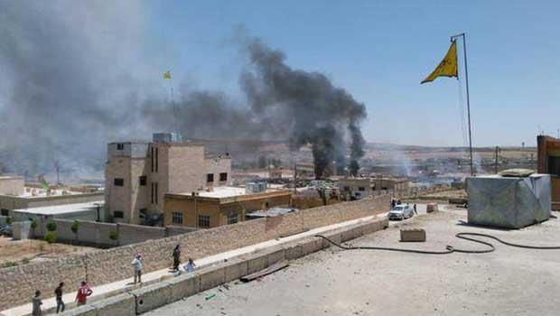Kobanê'de büyük patlama!