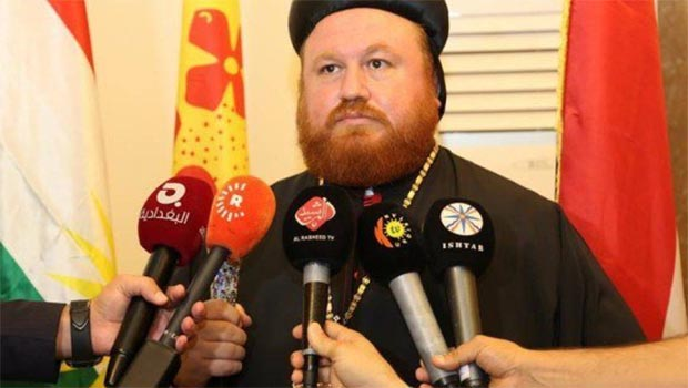 Kürdistanlı Hristiyanlardan Barzani'ye destek