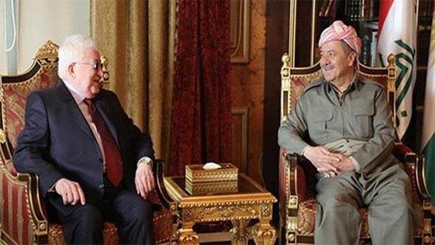 Başkan Barzani, Irak Cumhurbaşkanı ile görüşecek!