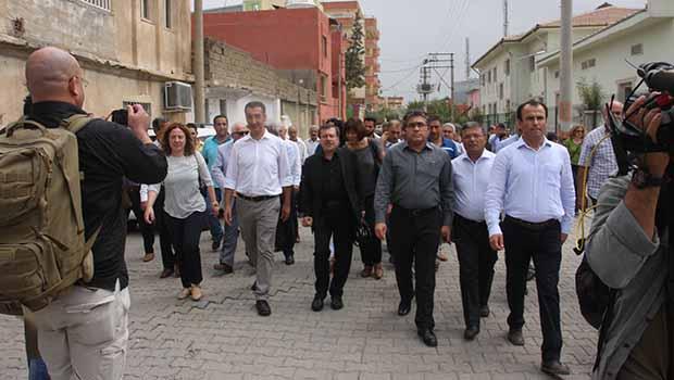 PAK Genel Başkanı Mustafa Özçelik Cizre'yi ziyaret etti
