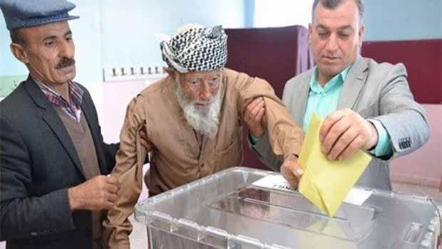Seçimin en yaşlısı, Siirtli Kürt seçmen
