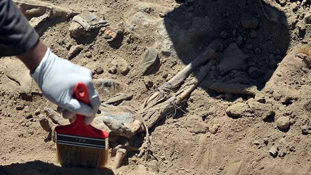 Şengal'de 110 Ezidinin gömüldüğü toplu mezar bulundu