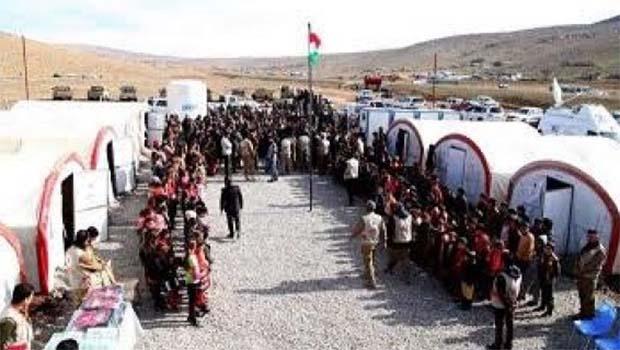 Şengal Kürdçe Eğitim Yönetimi'nden Barzani Yardım Vakfı'na teşekkür
