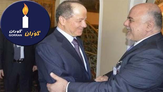 Goran'dan Irak'a 'Barzani'yi görevden uzaklaştır' çağrısı