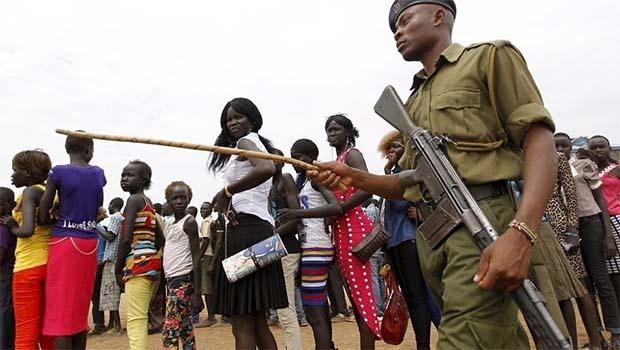 Güney Sudan'dan Askerlere 'yasal' tecavüz izni!