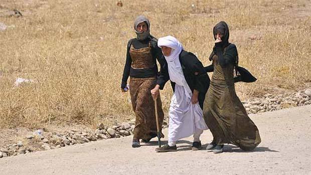 IŞİD'den kurtarılan 52 Ezidi Kürdistan'a ulaştı