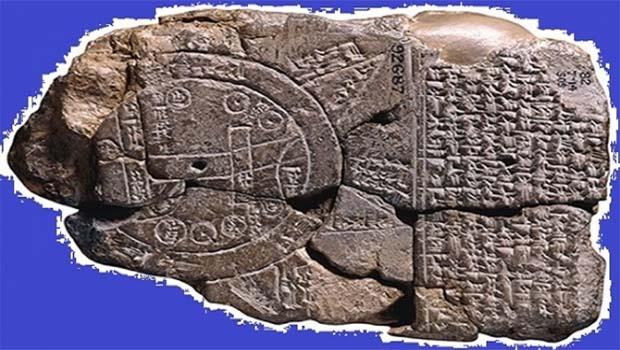 Irak'ta bulunan kil tablet tarihin ilk haritası mı?