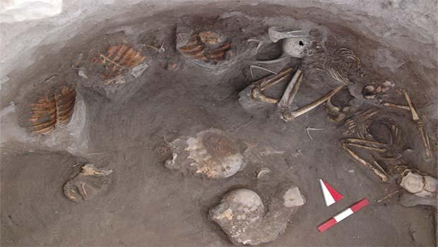 Kuzey Kürdistan'da kaplumbağalarla gömülmüş 2 Bin 500 yıllık mezar bulundu