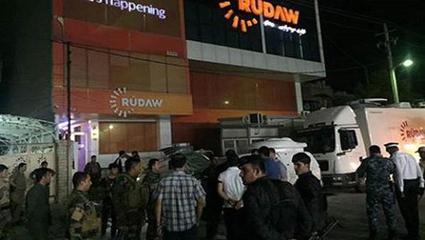 Rûdaw merkezine bombalı saldırı!