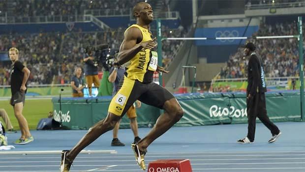 Usain Bolt Rio'da tarihe geçti