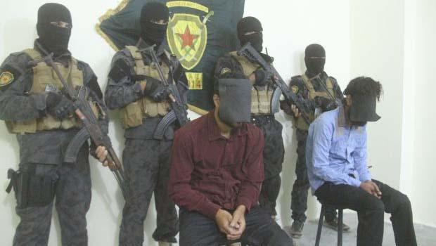 Esir YPG savaşçılarına işkence yapanlar yakalandı