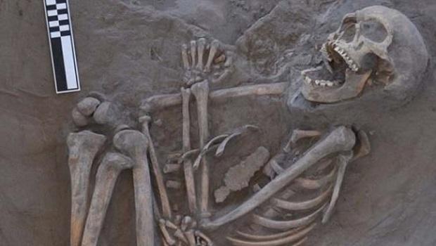 800 yıllık iskeletin ölüm sebebi ortaya çıktı