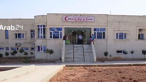 Kobani'de ücretsiz hastane