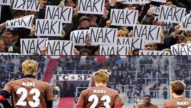 St. Pauli takımından Deniz Naki'ye destek