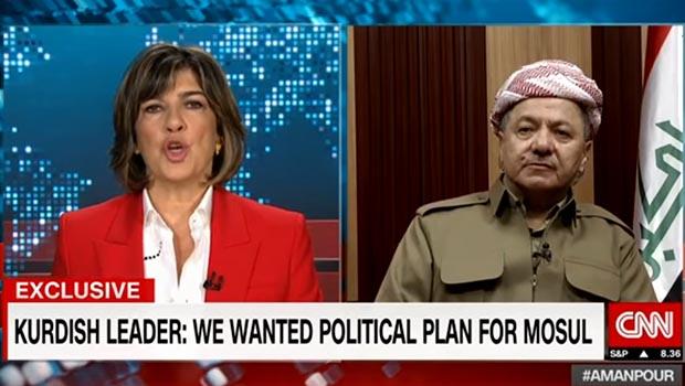 Barzani: Peşmergeye inanıyorum, Musul'da büyük bir zafer kazanacağız