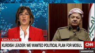 Barzani: Peşmergeye inanıyorum, Musul\'da büyük bir zafer kazanacağız