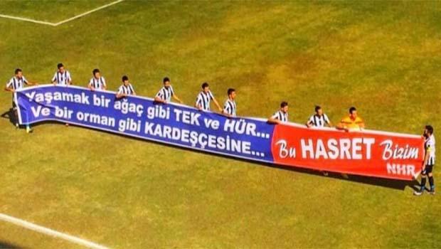 Fethiyespor'un pankartına ceza!