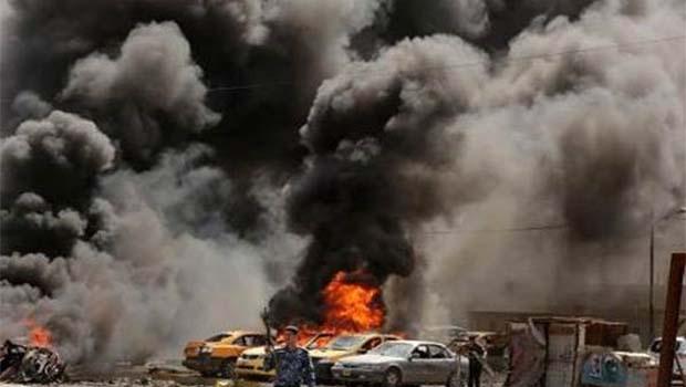 Irak'ın iki kentine bombalı saldırı