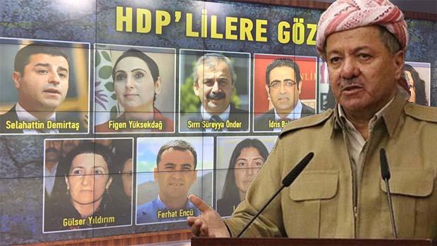 HDP'li vekiller: Barzani arabulucu olmalı