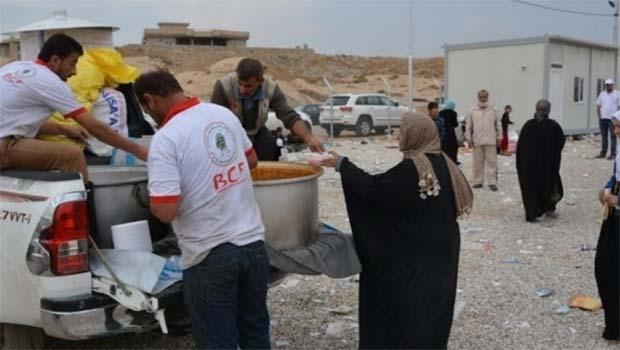 Barzani Yardım Vakfı'ndan Musullulara yardım