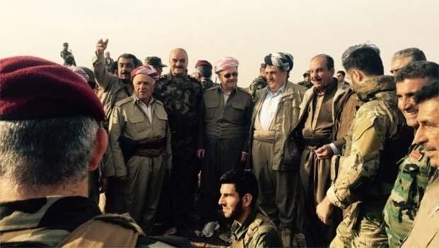 Başkan Barzani Başika Cephesi'nde